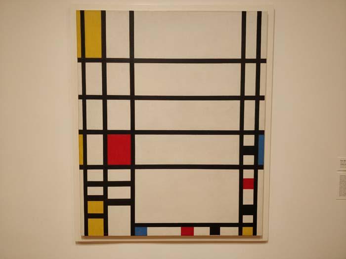 Trafalgar Square by Piet Mondrian