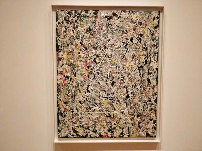 White Light by Jackson Pollock