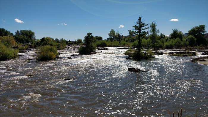 Big Sioux River before the Falls