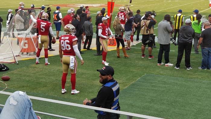 49ers sideline #5