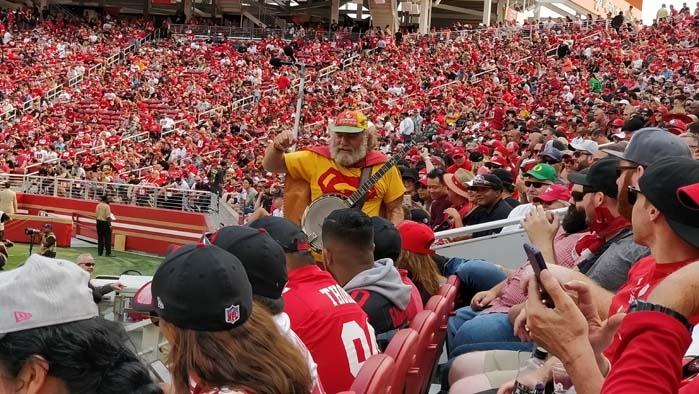 A 49ers fan