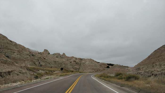 Badlands Loop Road near Pinnacles Overlook #1