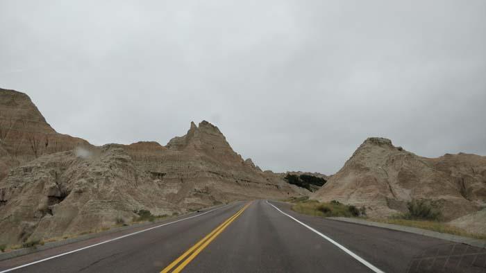 Badlands Loop Road near Pinnacles Overlook #2