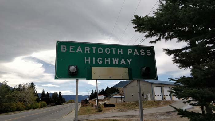 Beartooth Pass Highway - east side driving west #1