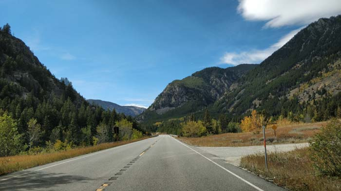 Beartooth Pass Highway - east side driving west #3