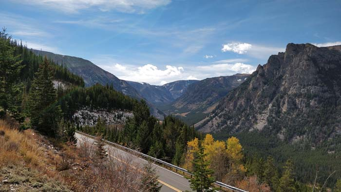 Beartooth Pass Highway - east view #1