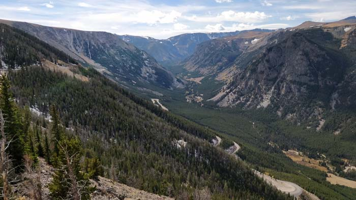 Beartooth Pass Highway - east view #2