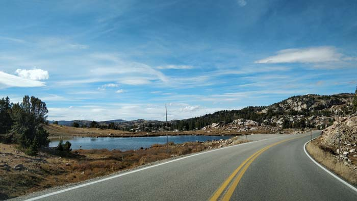 Beartooth Pass Highway - west side driving west #1
