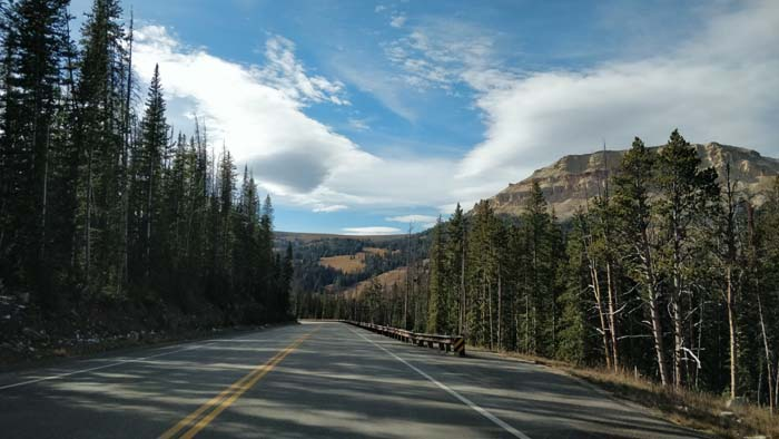 Beartooth Pass Highway - west side driving west #3