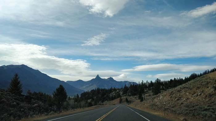 Beartooth Pass Highway - west side driving west #5