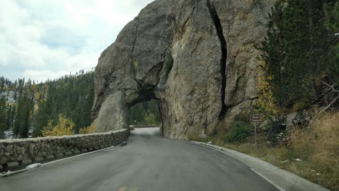 Highway 87 S - Hood Tunnel