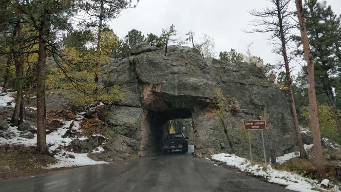 Iron Mountain Road - Scovel Johnson Tunnel