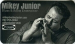 Mikey Junior business card