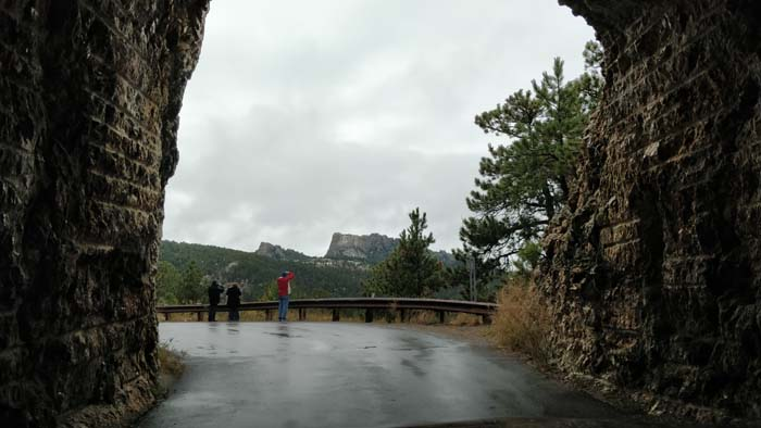 Mount Rushmore from Iron Mountain Road