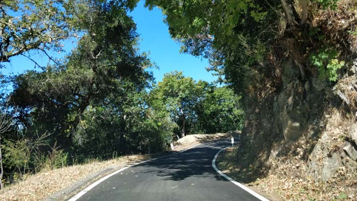 Skyline Boulevard single lane #1