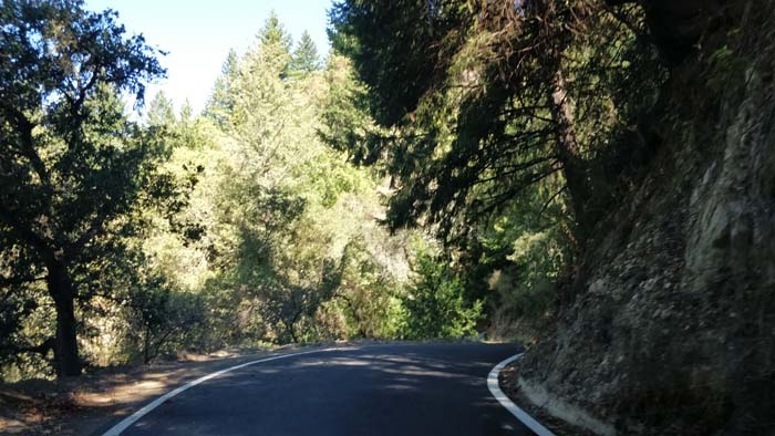 Skyline Boulevard single lane #2