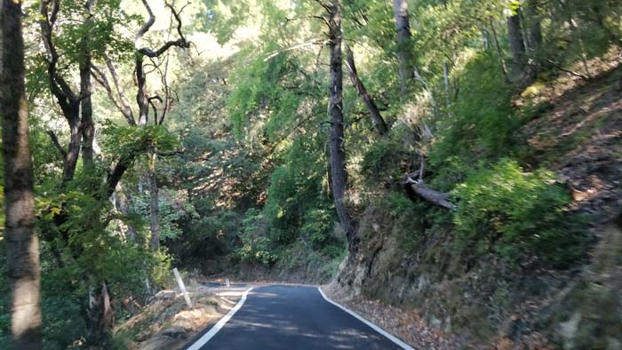 Skyline Boulevard single lane #3