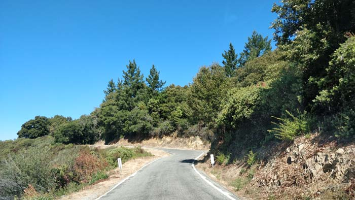Skyline Boulevard single lane #7