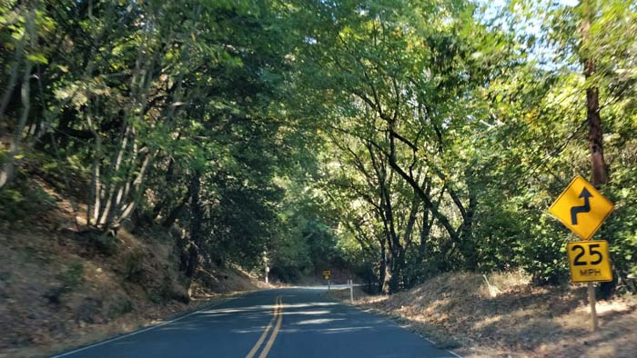 Skyline Boulevard two lane #2