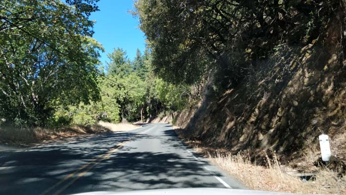 Skyline Boulevard two lane #3