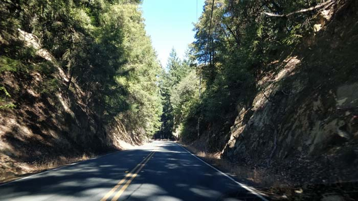Skyline Boulevard two lane #4