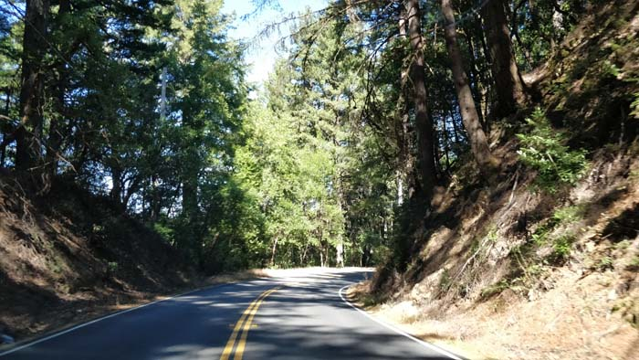 Skyline Boulevard two lane #5