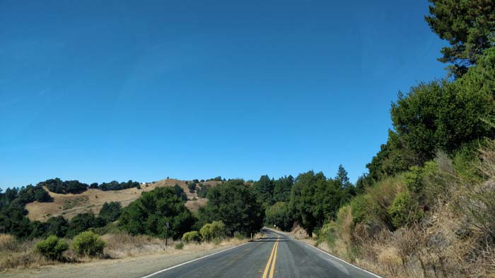 Skyline Boulevard two lane #6