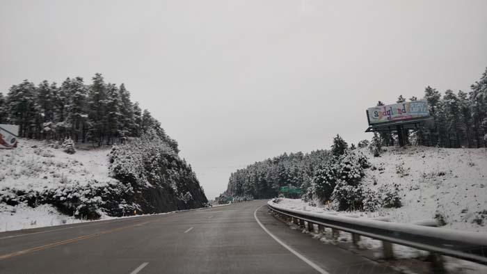 Snowy roads #1