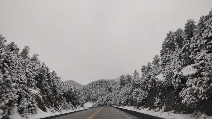 Snowy roads #2