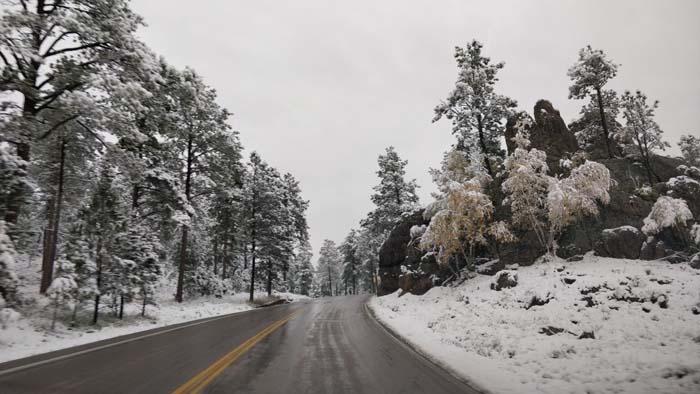 Snowy roads #3