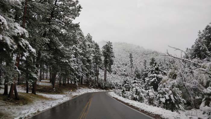 Snowy roads #4