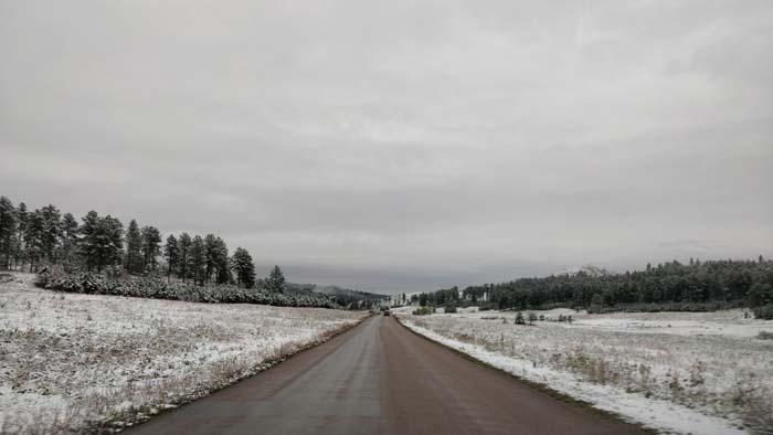 Snowy roads #5