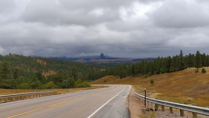 US-14 W towards Devils Tower