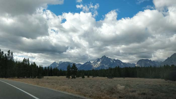 US-191 S near Jackson Lake