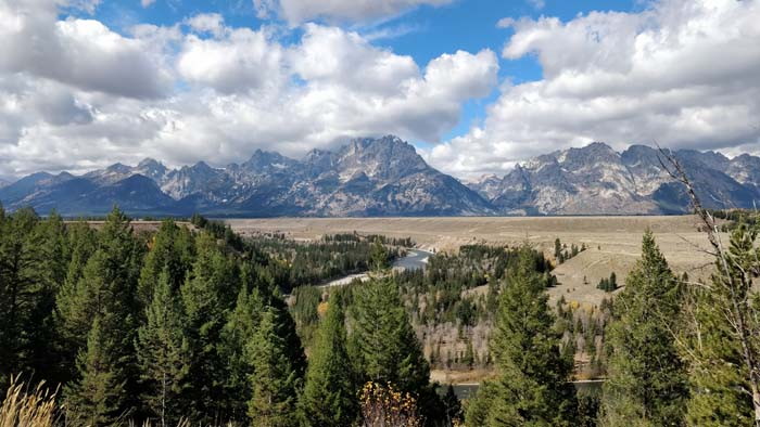 Grand Teton at Snake River Overlook