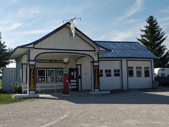 1932 Standard Oil Station, Odell, IL #1