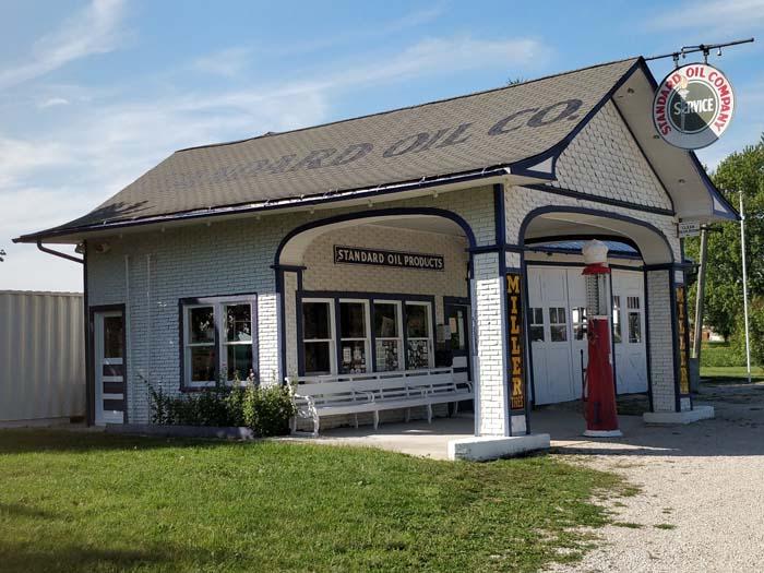 1932 Standard Oil Station, Odell, IL #2