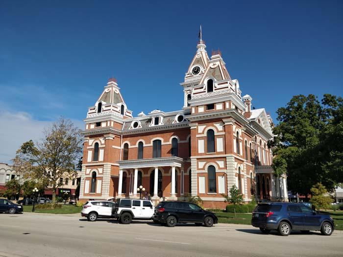 County Board, Pontiac, IL