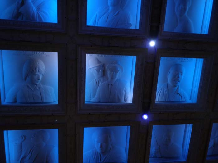 House of Blues Ceiling Sculptures