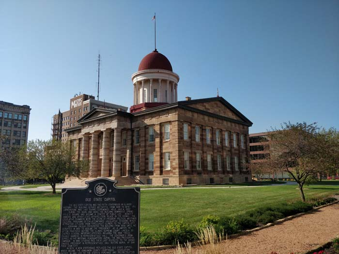 Old State Capitol, Springfield, IL #1
