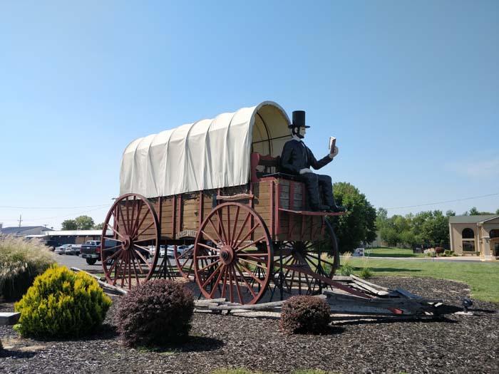 Railsplitter Covered Wagon, Lincoln, IL