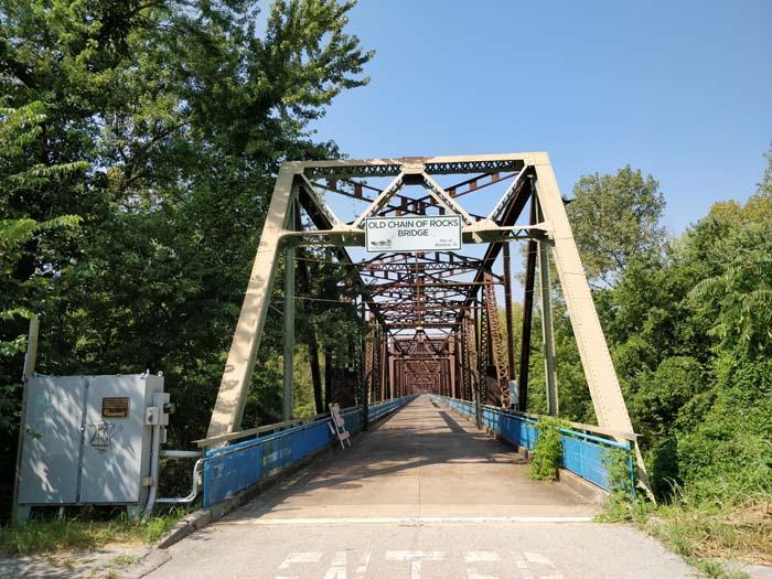 Chain of Rocks Bridge #1