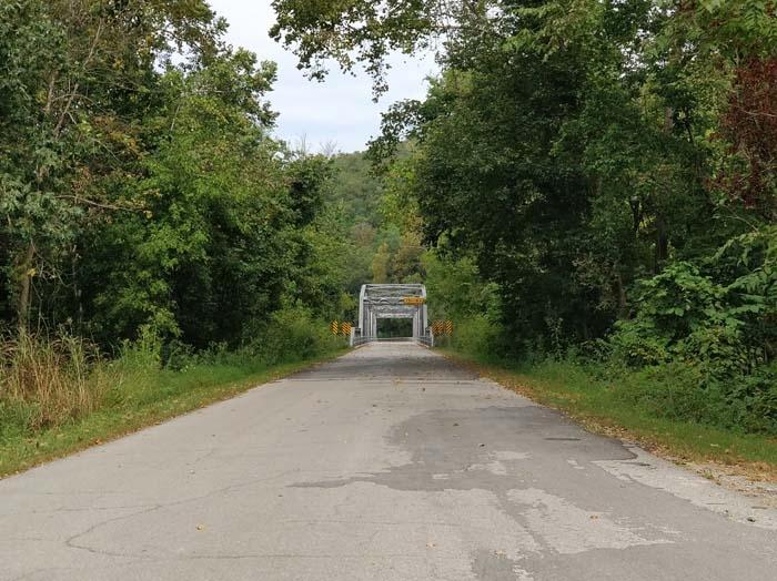Devil's Elbow Bridge South entrance