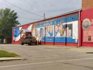 Wall murals in Cuba MO #1