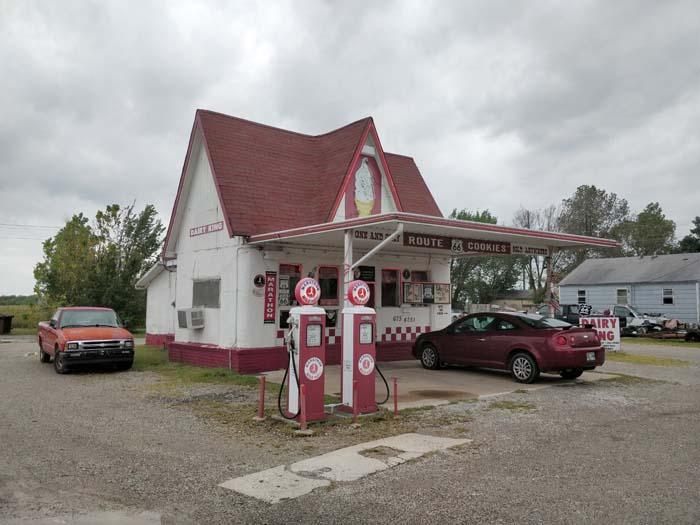 Dairy King Ice Cream Cafe Commerce OK #1