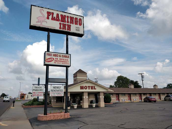 Flamingo Inn Elk City OK #1