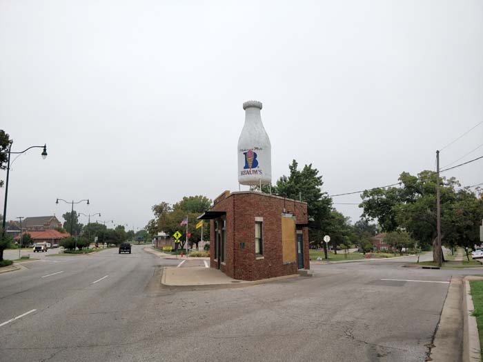 Milk Bottle Grocery #1 OKC