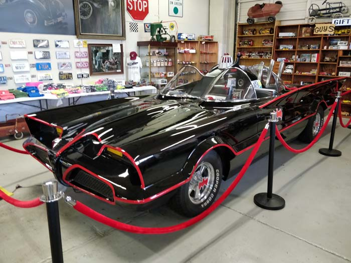Route 66 Car Museum - Batmobile