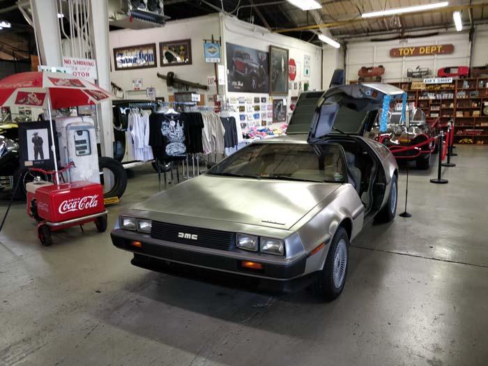 Route 66 Car Museum - DeLorean