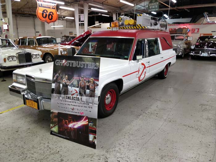 Route 66 Car Museum - Ghostbusters ECTO-1 #1